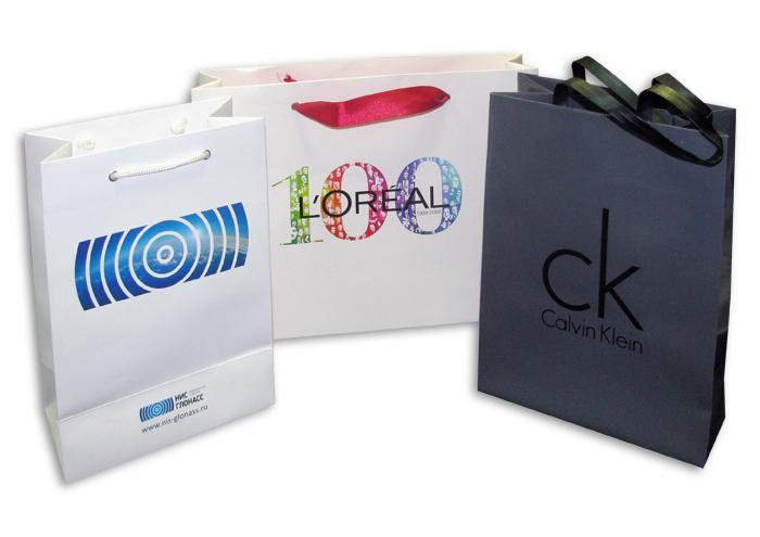 Пакеты с нанесением логотипа в ростове